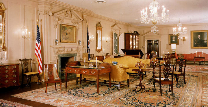 The John Quincy Adams State Drawing Room