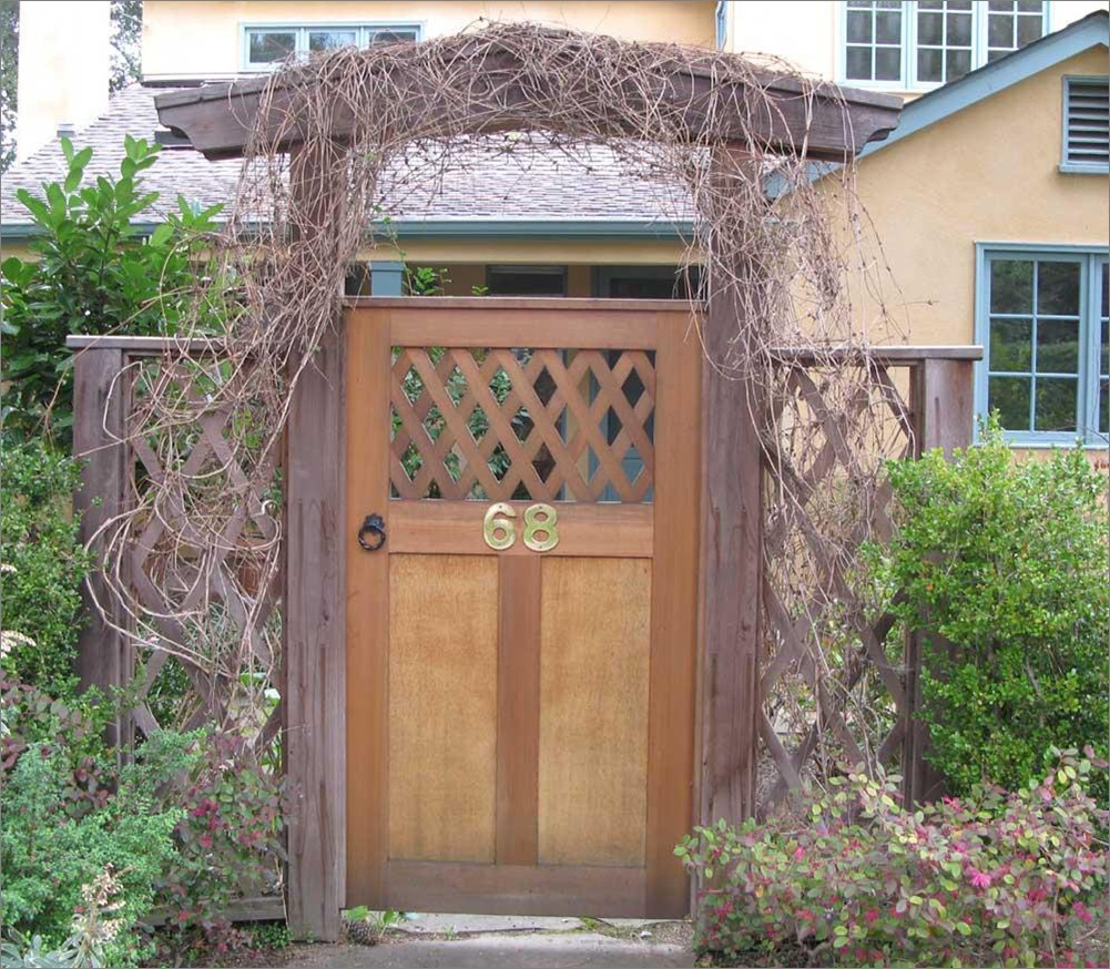 This gate is built just like an entry door -- real joinery careful design and good craftsmanship in the construction. That\u0027s what is required for a ... & Bay Area Woodworkers Association